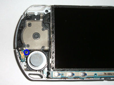 how to replace analog joystick on psp 2001 psp 2000 rh store richspsxparts com PSP Joystick Cap PSP Joystick Replacement