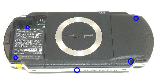 Psp 1001 Battery Stick on Psp 1001 Psp 1000